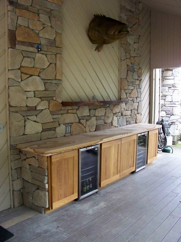 Black Locust Outdoor Cabinetry